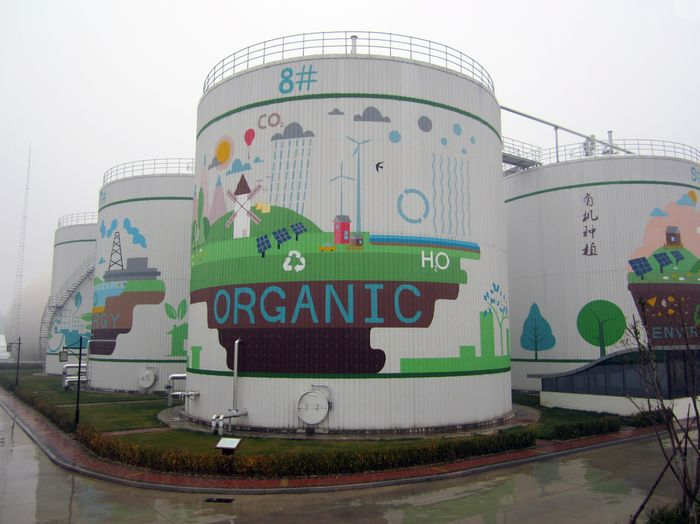 Biogas plant in Bejing/China