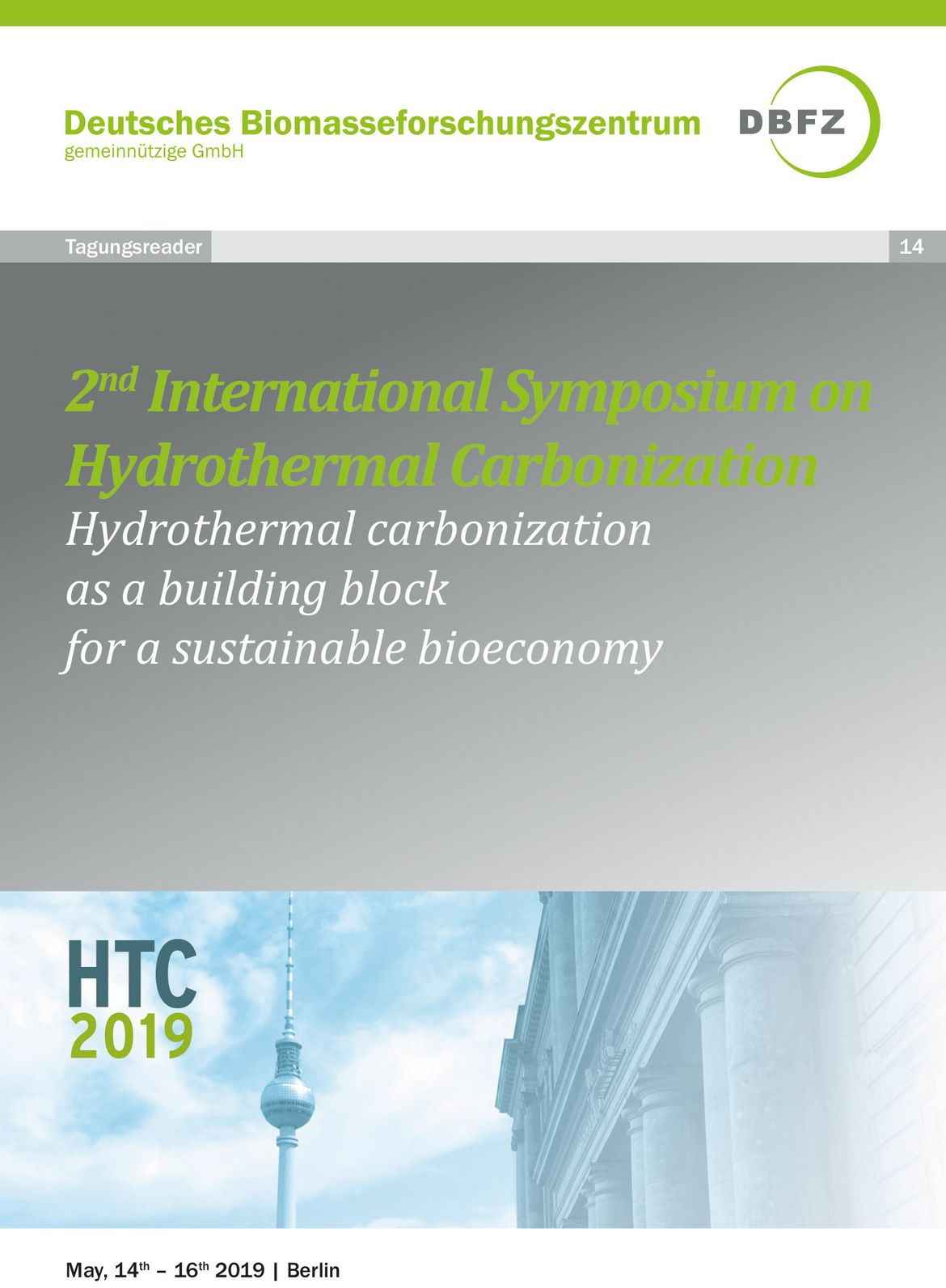 Frontpage: 2nd international Symposium on Hydrothermal Carbonization