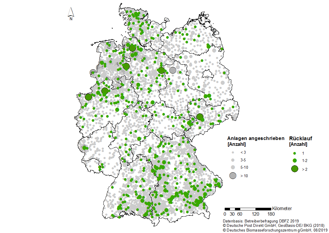 biogasanlagen in deutschland karte Barrieren für die Nutzung von Gülle in Biogasanlagen | Deutsches