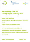IEA Bioenergy Task 40: Country Report Germany 2014